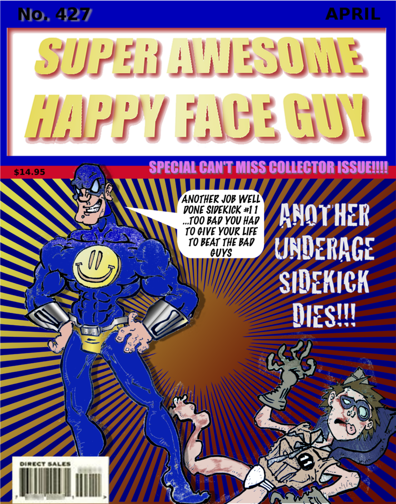 Super Awesome Happy Face Guy #427
